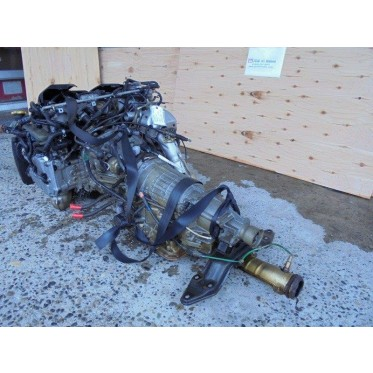 Subaru Legacy BE5 BH5 EJ20 Twin Turbo Engine With 5 Speed AWD Transmission JDM