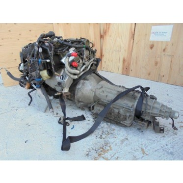 1998-2001 JDM Skyline DOHC NEO Inline 6 Cyl RB20 Engine With Transmission JDM RB20DE