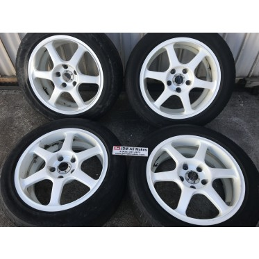 1993 Nissan Skyline JAWA Advanced Vehicle System RIMS only R16X7J Offset 30 JDM