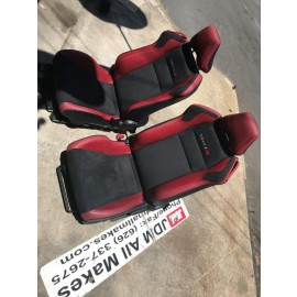 2018-2019 SUBARU BRZ tS STI SUEDE LEATHER FRONT Sport SEATS OEM