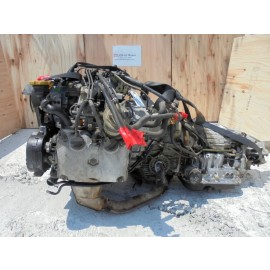 JDM Subaru Forester SF5 EJ20 SOHC NA Non Turbo Engine AT Trans Long Block 2.0L