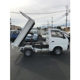 1992 Suzuki Carry Dump (HARD) Kei Truck Axles Lock 2Hi-4Hi-4Low