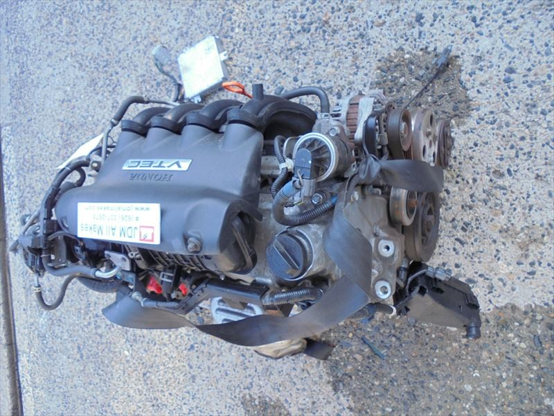 01-05 JDM Honda Fit Engine 1.5L L15A VTEC Engine AWD AT OEM